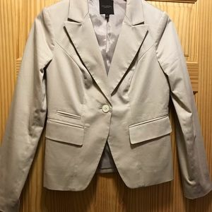 The Limited beige blazer size Small